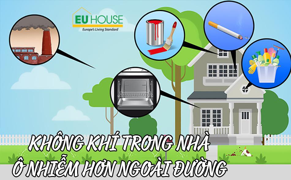 Nghịch lý: Không khí trong nhà ô nhiễm hơn bên ngoài