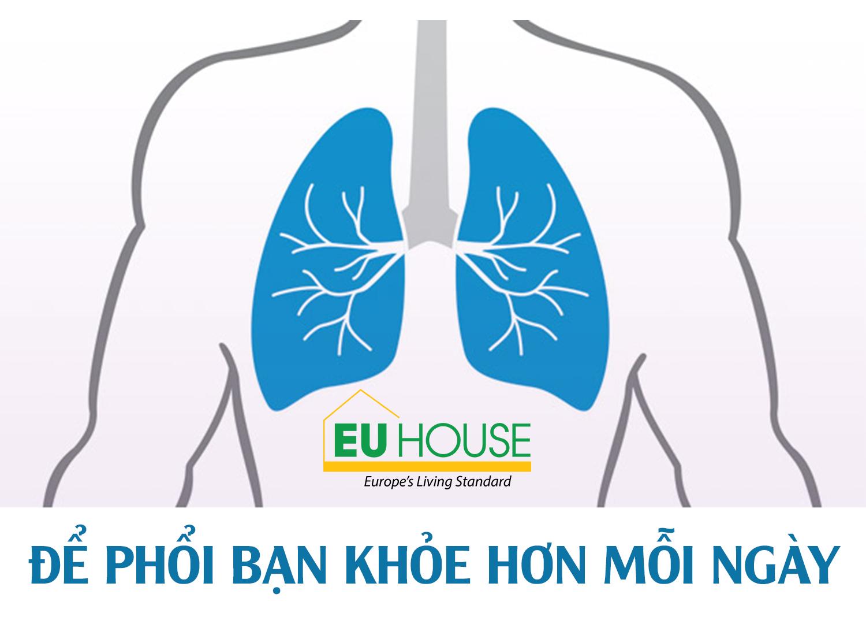 Để phổi bạn khỏe hơn mỗi ngày
